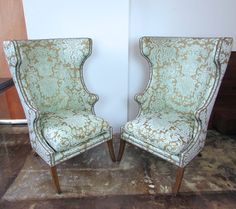 Dennis & Leen wing chairs