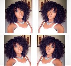 @Caysworld looking FAB in her DIY Kinky Curly wig styled with perm rods! Love this look!  #hair2mesmerize #curlbox #kinkychicks #4chairchicks #curlsunderstood #luvyourmane #essencemag #blackhairmag #naturalhair #naturalhairdaily #naturalhairdoescare #blackgirlsrock