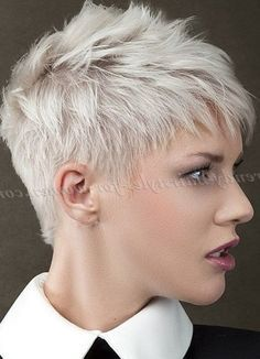 Cute Short Hairstyles, Hairstyles For Black Women, Hair Cut, Short Style, Hair… #WomenHairColorShort