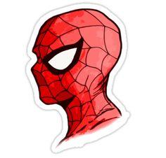 """Spiderman"" Stickers by FyrreWolf   Redbubble"