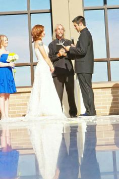 This beautiful wedding is an example of our traveling wedding ministers provided through best wedding chapel in Shelbyville Illinois. We can provide a wedding minister anywhere anytime. We also provide services in our historic Chapel less than a mile from Lake Shelbyville and travel with the mobile wedding chapel to make it your wedding day special.217-774-7809 or visit www. best wedding Chapel . com