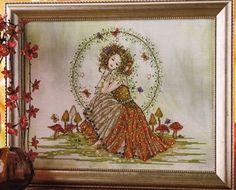 Earth Goddess - Cross Stitch Pattern-A Joan Elliot design