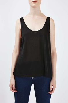 Skinny Vest by Boutique - Camis & Vests - Clothing - Topshop Europe