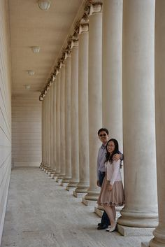 Brian Gavin Customers and their Engagement Photo at the Legion of Honor.