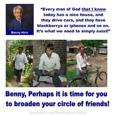 Benny Hinn is a WOLF IN SHEEPS CLOTHING!!