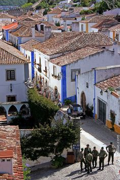 Obidos  Portugal. Been here and looking forward to going back this summer!! :)