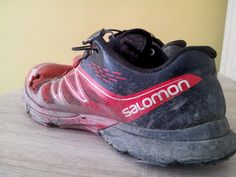 Salomon Sense Ultra - after 1470 km ... I had two pairs, one for work-outs, second one for races. This one, work out one, was mostly used in 2014. #salomon #senseultra #trailrunning