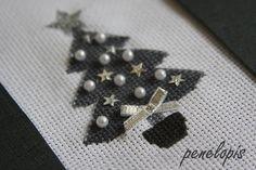 Penelopis' cross stitch freebies: Christmas tree