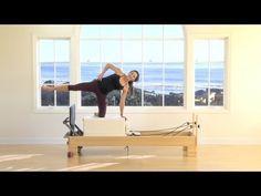 Courtney Miller Pilates Jump Board Workout - YouTube