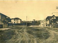 Avenida Nove de Julho na Bela Vista - 1935