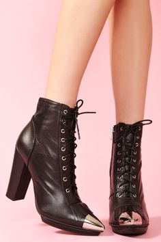Nasty Gal x Jeffrey Campbell Ruby Roper Boot ... LOVE