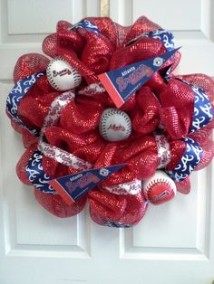 Atlanta Braves wreath.