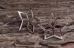 Stars of Greenland by Miklagards Sterling silver, white rhodium