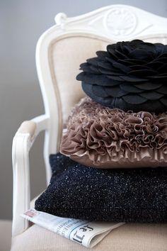 pillows...