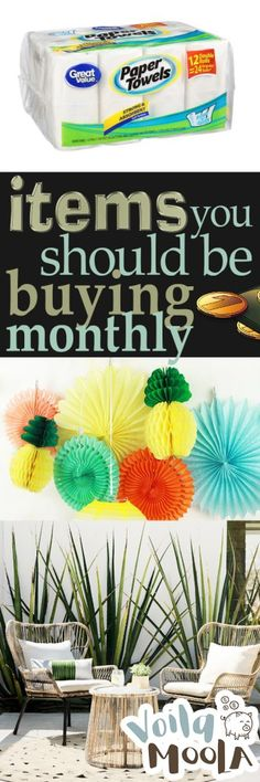 Items You Should Be Buying Monthly Items You Should Be Buying Monthly Save Money On Groceries, Ways To Save Money, How To Make Money, Saving Ideas, Money Saving Tips, Frugal Christmas, Homemade Cleaning Products, Savings Plan, Enjoy Summer
