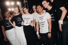 #NYFW is turning into one big political protest. Visit ELLEuk.com to see all the statements including the many on show at Prabal Gurung #AW17 (@prabalgurung) so far. (: @kellytaub/WWD/REX/@shutterstocknow) #PrabalGurung  via ELLE UK MAGAZINE OFFICIAL INSTAGRAM - British Fashion Campaigns  Haute Couture  Advertising  Editorial Photography  Magazine Cover Designs  Supermodels  Runway Models