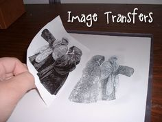 Easy Image Transfers using acetone