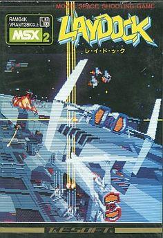 MSX2 3.5インチソフト レイドック