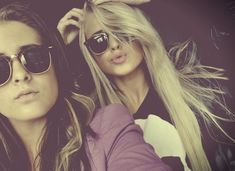 Long hair don't care hipster indie tumblr girl best friends