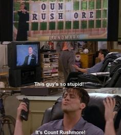 It's a good thing you're pretty Joey...