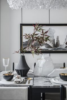 Scandinavian Style, Sofa Furniture, Furniture Design, Dining Room, Dining Table, Apartment Interior Design, Canteen, Interiores Design, Decor Styles