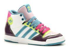 Adidas midiru court mid multi color hoge sneakers