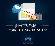 ¿Curioso título verdad? ¿Sabes a lo que me refiero con email marketing barato? Pues a esas campañas de email marketing que se hacen sin mucho cuidado, sin