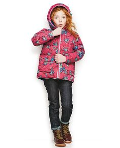 Down Puffer Jacket by Hanna Andersson