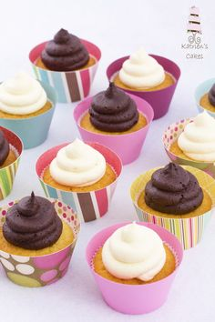 This recipe for how to bake cupcakes yields treats that are moist, with a light texture & are not overly sweet. Included: 10+ flavor variations to try!