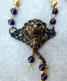 May/June Challenge. Lions Club necklace