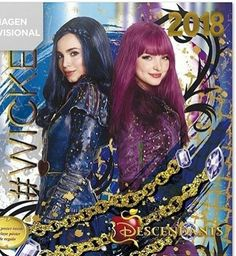 Descendants 2 Dove Cameron as Mal and Sofia Carson as Evie I adore Mal and my sister loves Evie #WICKED