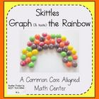 Taste the Rainbow....and work on Common Core graphing (and other math) standards. My kiddos love using these manipulatives for learning. Super math center for the spring...and rainbows.