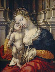 16th Century Art; 1500s; Art; Paintings; Jan Gossaert c. 1527