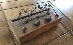 Antiguidade Mouse Trap 3 Furos