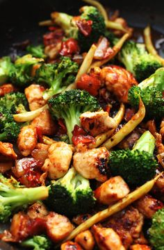 Recipe for Orange Chicken and Vegetable Stir Fry -