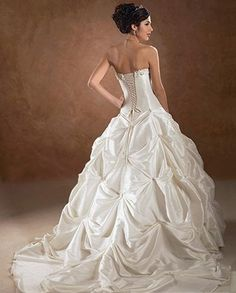 1000 images about wedding gowns on pinterest alfred for Wedding dress like belle from beauty and the beast