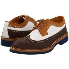 2 tone wingtip shoes - Google Search