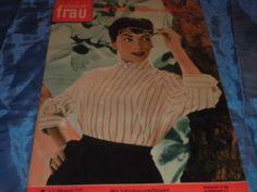 STIMME DER FRAU , Frauenzeitschrift 1955 , Mode / Heim / Leben , selten , 5 | eBay