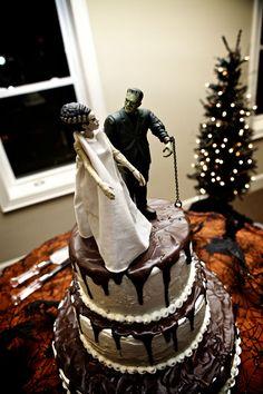 Frankenstein wedding cake
