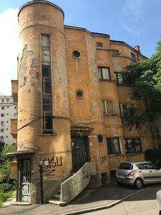 Str.Mamulari Bucharest, Abandoned Houses, Locomotive, Romania, Interior And Exterior, Castles, Countries, Art Deco, City