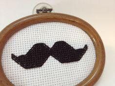 Sewing Barefoot: mustache stitches free pattern