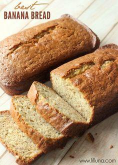 Best Banana Bread Recipe via @kristynm// #best #bread #banana #baking #easy