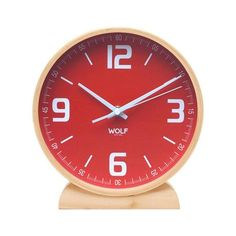 "Claude 8"" Round Mantel Clock | dotandbo.com"