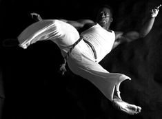 Capoeira is a Brazilian fight-dance, game, and martial art created by enslaved Africans during the 17th Century Participants form a roda (circle) and take turns playing instruments, singing, and sparring in pairs in the center of the circle.