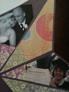 photo star on cardstock