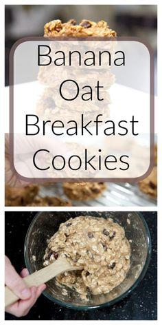 Banana Oat Breakfast Cookies | Healthy Ideas for Kids