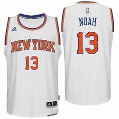 ced9ebd4 New York Knicks #13 Joakim Noah 2016 Home White New Swingman Jersey Nba New  York