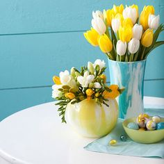 Turn a plain glass vase into something entirely unique with just a little bit of paint.