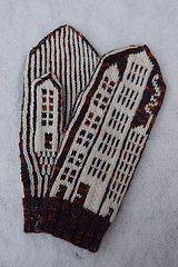 Ravelry: House mittens pattern by Karina Larsson
