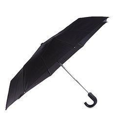 Fulton Automatic Crook Umbrella In Black Fulton, Collection, Black, Black People